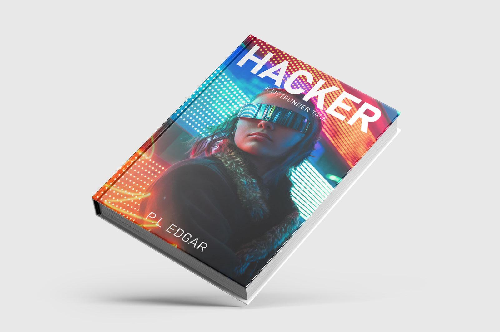Cyber punk book cover
